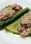 ゴーヤの肉詰め煮