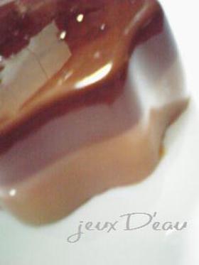 ダイエット中でも大満足な☆ショコラプリン