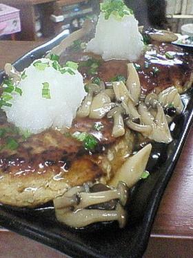 ヘルシー豆腐ハンバーグ(~o~)