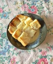 チーズソースかけトースト*朝食•ランチ◎の写真