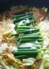 プデチゲ風!野菜たっぷり辛ラーメン