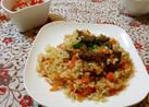 ウズベキスタンの炊き込みご飯 プロフ