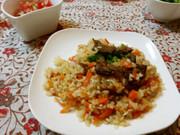 ウズベキスタンの炊き込みご飯 プロフの写真