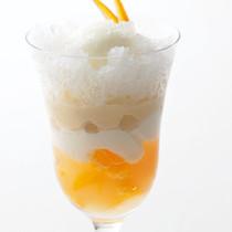 柚子パフェ