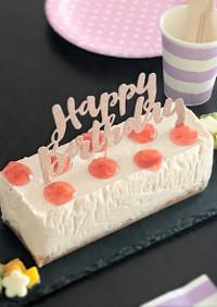 苺ジャムで♡ストロベリーチーズケーキ