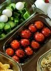 プチトマトの胡麻ポンマリネ