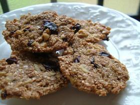 マクロビ風 100%全粒粉クッキー