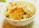 松茸のお吸い物の素で✴筍炊き込みご飯✴