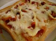 キムチーズトーストの写真
