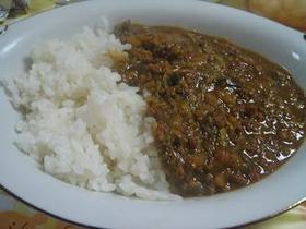 水なし!白菜とひき肉のカレー