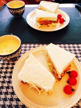 ♡照り焼きチキンサンドイッチ♡