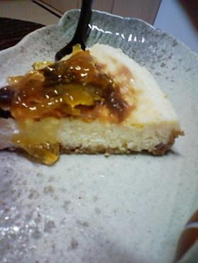 ゆず香る♪柚子のベイクドチーズケーキ