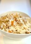 冷凍ご飯で15分舞茸 鶏ごぼうの混ぜご飯