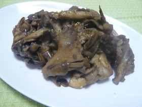 ☆舞茸のバターソテー『山椒風味』☆