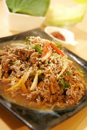 オモニ直伝韓国料理★プルコギ