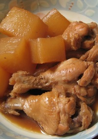鶏手羽元と大根のさっぱり煮