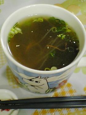 酢の物再生☆酸っぱい中華スープ