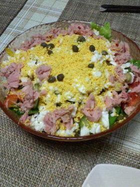 お野菜たっぷり*ニース風サラダ