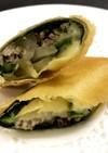 秋刀魚の春巻き(秋刀魚春捲)