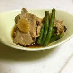 豚のメープル塩麹煮