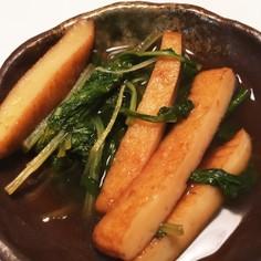 簡単美味しく☆シロナと平天の煮物