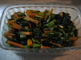 くせになる大根の葉の炒め物