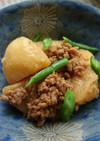 *ひき肉とじゃが芋のメープルシロップ煮*