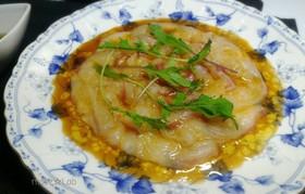 真鯛のカルパッチョ☆すだち和風ソース
