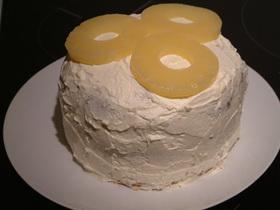 ピニャ・コラーダみたいなケーキ