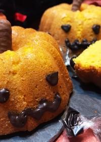 ハロウィン★パンプキン形カボチャケーキ