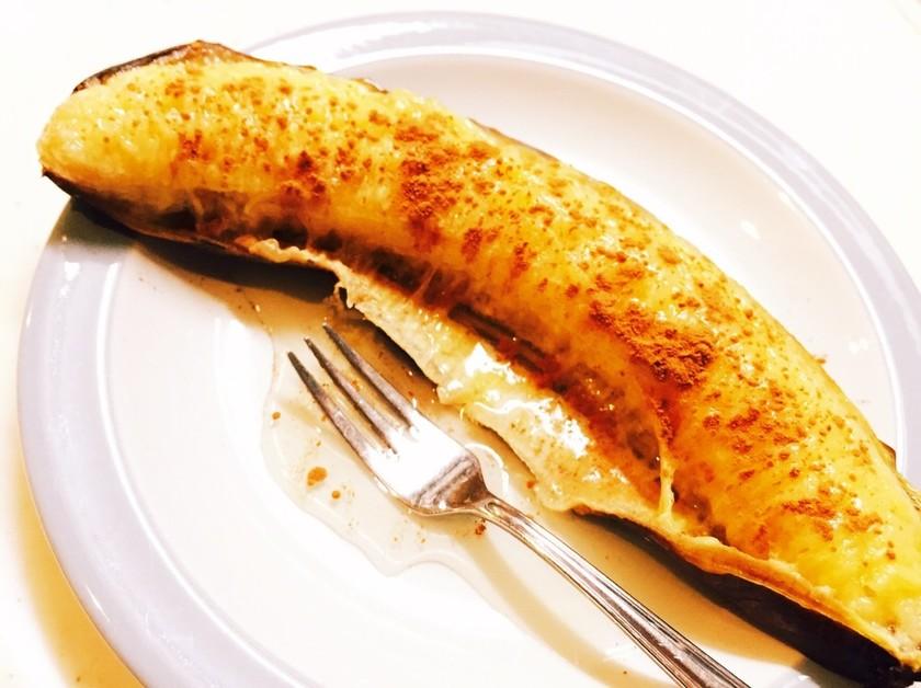 簡単焼きバナナ