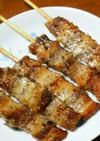 北海道の郷土料理!豚バラの串焼き