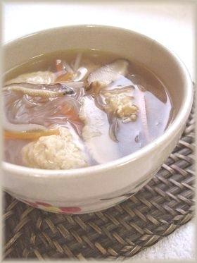 肉団子の五目スープ