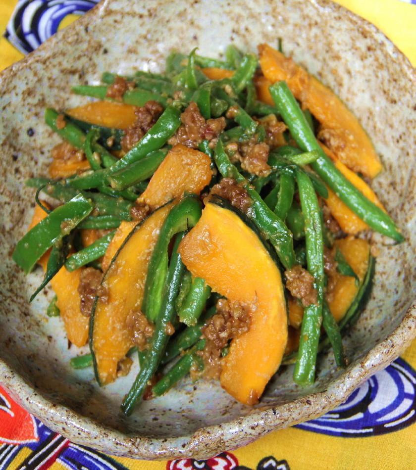 【野菜ソムリエ】南瓜の油味噌