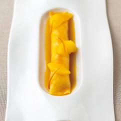レモンとオレンジのクレープ
