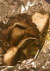 舞茸とカジキマグロのホイル焼き