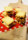 チョコ★チーズホイップ★サンドクッキー