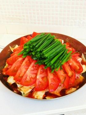 ☺簡単♪豚肉とキャベツのトマトおろし鍋☺