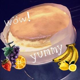 ふわふわこんもりスフレチーズケーキ♡