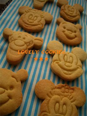 ザクザク☆型抜きクッキー