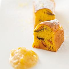 かぼちゃとレーズンのパンケーキ