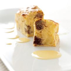 りんごとチョコレートのパンケーキ