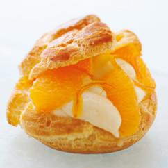 シュークリームオレンジ風味