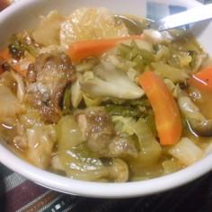 豚肉・野菜・キノコの旨みたっぷり煮込み