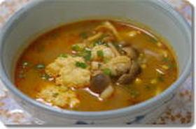 ピリ辛・鶏団子のトムヤムスープ