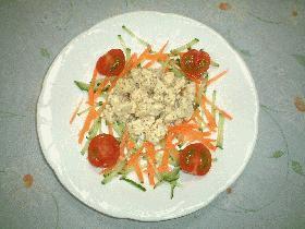 鶏肉のマスタードサラダ