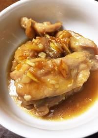 鳥モモ肉  オレンジマーマレード煮
