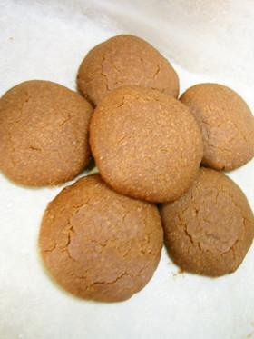 材料4つ!キャノーラ油で♪ココアクッキー