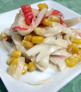 ☆白菜とカニカマのオイマヨサラダ☆