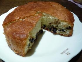 しっとり。ブルーベリーミニケーキ*。